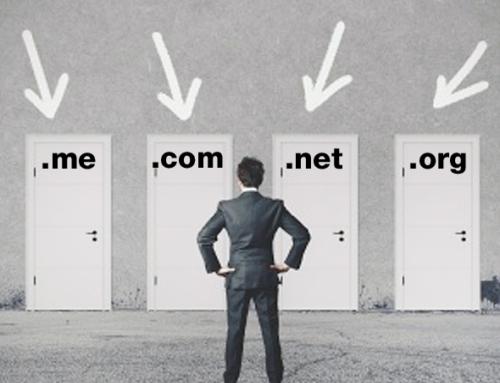 .com, .org, .net, .co, .me, .info, .biz, .mobi…