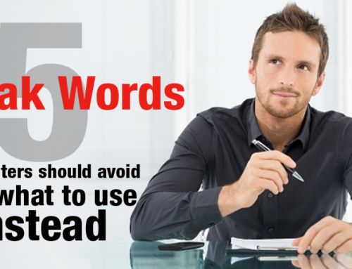 5 Weak Words to Avoid (and what to use instead)
