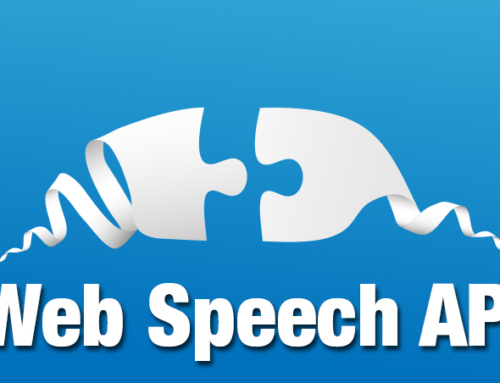 Web Apps not Only to Speak to You, but to Listen, Too!