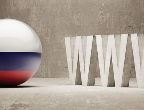 Responsive Re-design of  Russia's most prominent government website
